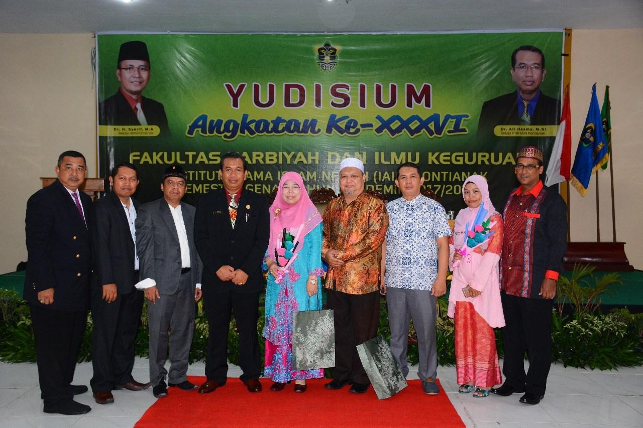 Yudisium FTIK IAIN Pontianak | Mahasiswa Prodi PAI Capai IPK 4,00